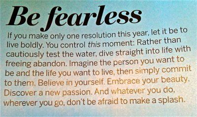 fear: Inspiration, Quotes, Live Boldly, Wisdom, Fearless, Live Life, Year, Resolution, Things