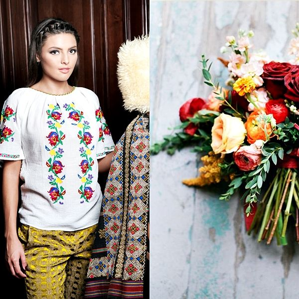 Colorful flowers of Romania <3 #florideie #fashion #style #flowers #colorful #romania #design #brand #embroidery #handmade #unique #ootd