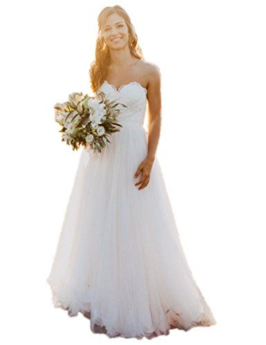 New Libaosha Sweetheart A-Line Tulle Bridal Gowns Beach Wedding Dresses  online.   114.33  offerdressforyou Fashion is a popular style 0720959201