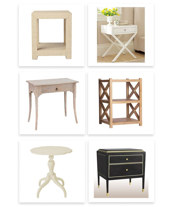 round up of the best bedside tables .