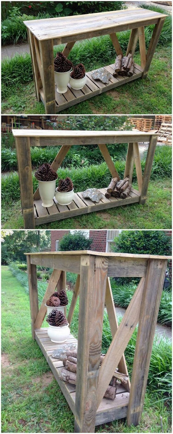 Wooden transport pallets have become increasingly popular for diy - 50 Creative Diy Wood Pallet Ideas For This Summer
