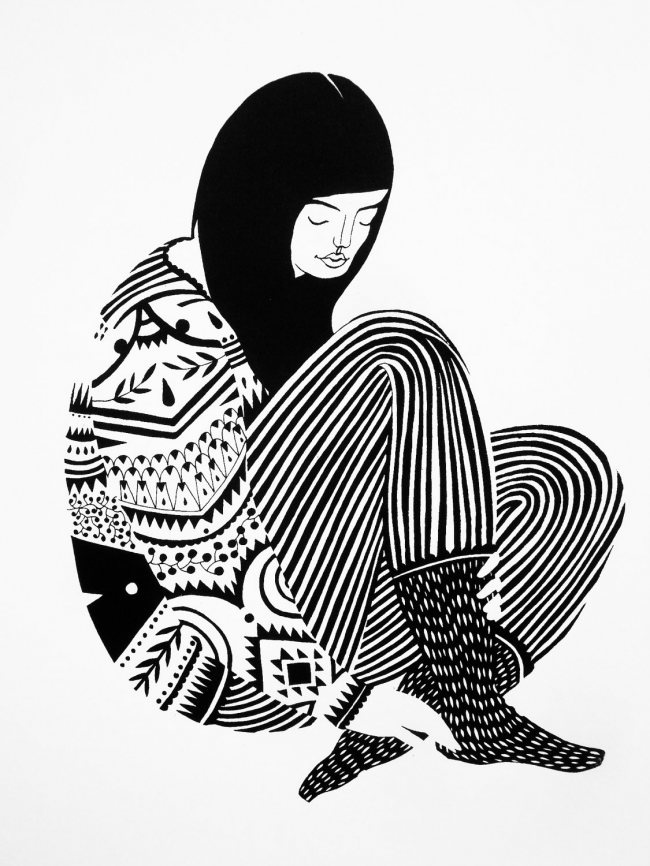 Sweater by Karolin Schnoor