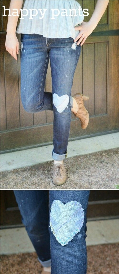 25 Awesome DIY Jeans And Denim Shorts For Spring And Summer | Shelterness