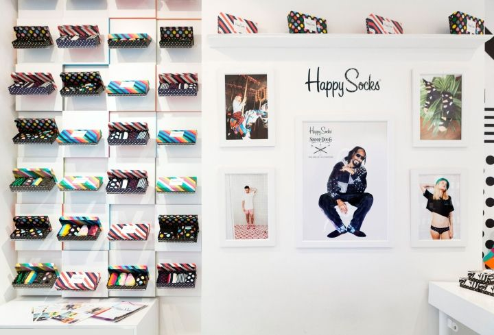 Happy Socks Store by Double Europe London UK