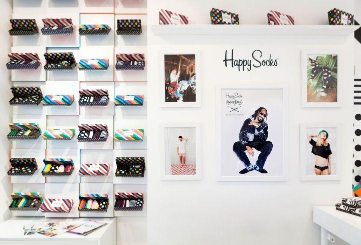 Happy Socks Store by Double Europe, London – UK » Retail Design Blog