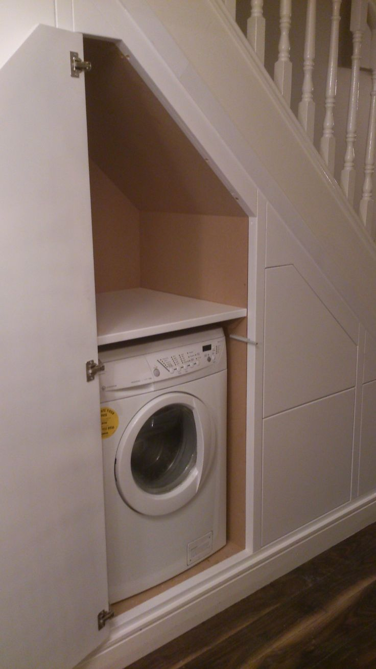 understairs washing machine