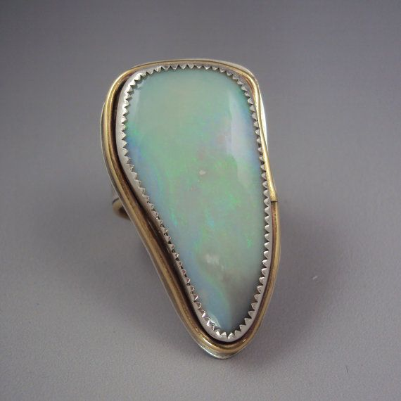 Translucent opal ring.  So gorgeous.