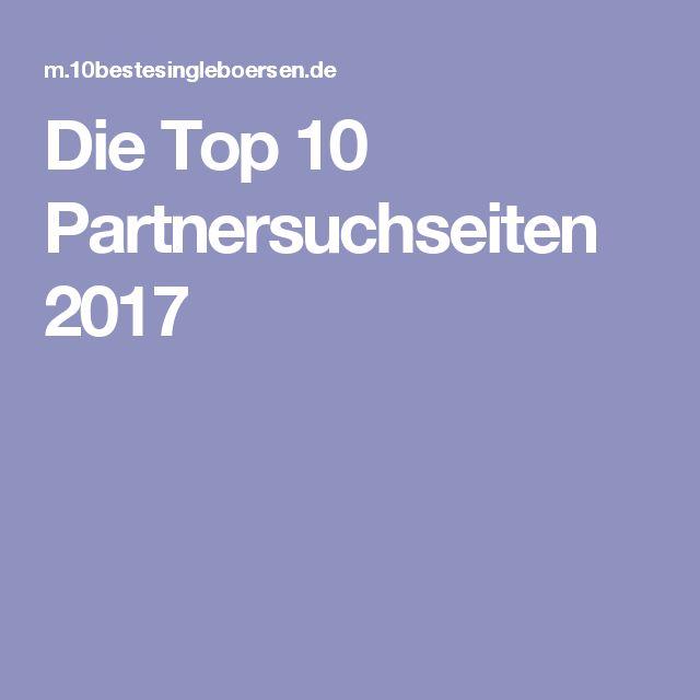 Die Top 10 Partnersuchseiten 2017