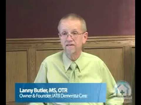 "Lanny Butler is amazing.  This video gives good tips on how to help people with dementia maintain their independence.  Get even more advice by taking ""Therapeutic Approaches to Dementia"" with Cross Country Education.  I took it and I learned a lot of very helpful information."