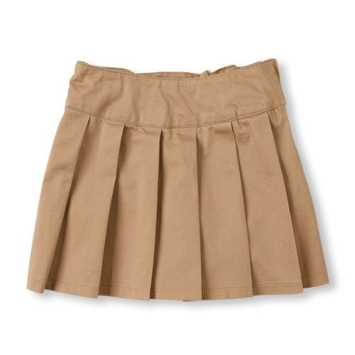 839cf98c68 NWT Childrens Place pleated school uniform skirt skort khaki navy blue 5 6  7 8 #fashion #clothing #shoes #accessories #kidsclothingshoesaccs ...