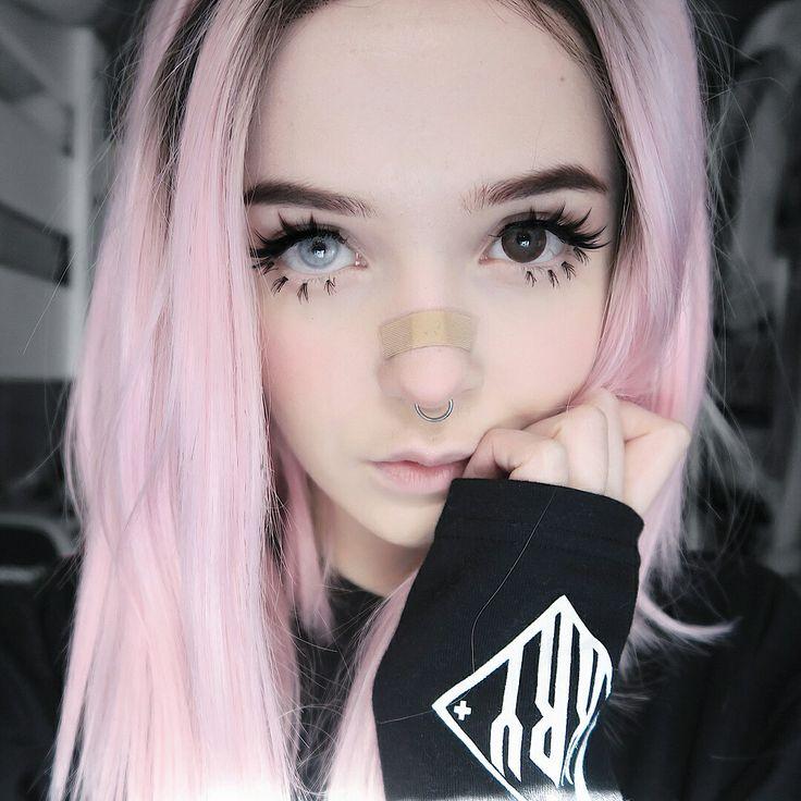 Punk, Girl , Goth, Gothic, Aesthetic, Cute, Pretty