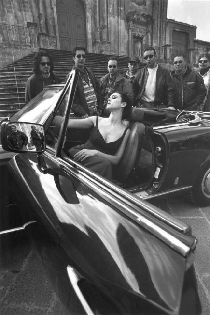 Magnum Photos - Ferdinando Scianna 1997 Monica Bellucci Palazzolo Acreide Sicily Italy