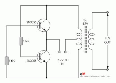 Power Inverter Darlington Pair