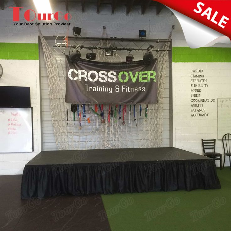 TourGo Portable Event Stage with Lighting Aluminum Truss for Sale