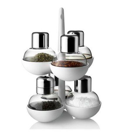 contemporary spice oraganizer is one of modern kitchen accessories for spices storage