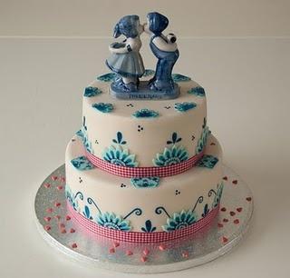 Dutch wedding cake.