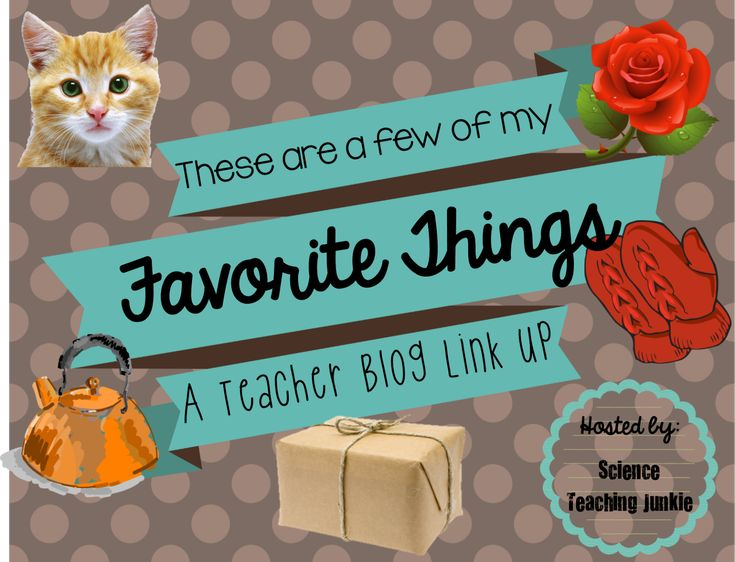 An InLinkz Link-up To get the ball rolling, here are my Top 10 Classroom Faves (in no particular order)! 1.)  Interactive Scie...