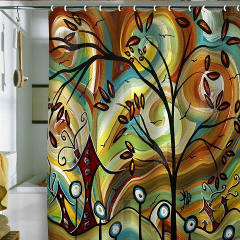 Madart Inc., Fall Colors Shower Curtain