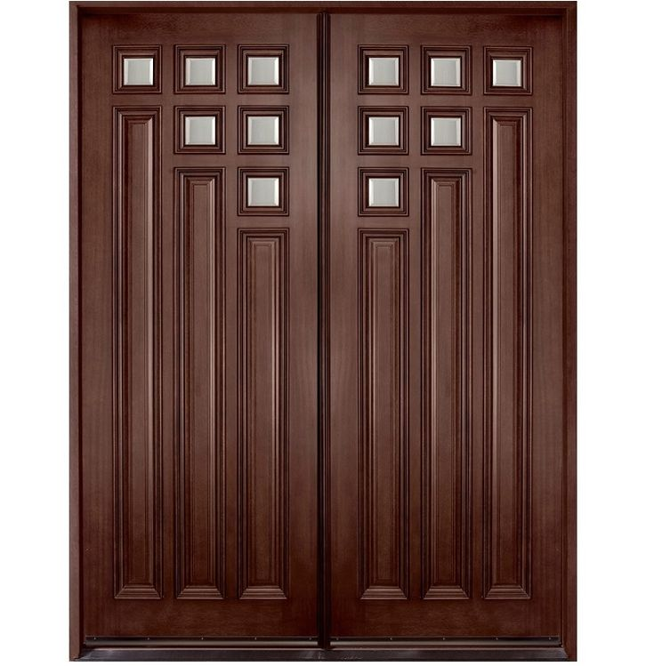 Main double door hpd109 main doors al habib panel for Entry double door designs