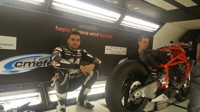 Moto2: Miguel Oliveira faz testes com a KTM em túnel de vento