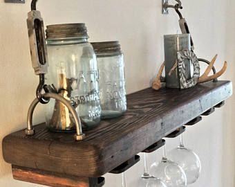 Rustic Reclaimed Wood Coffee Table | Etsy