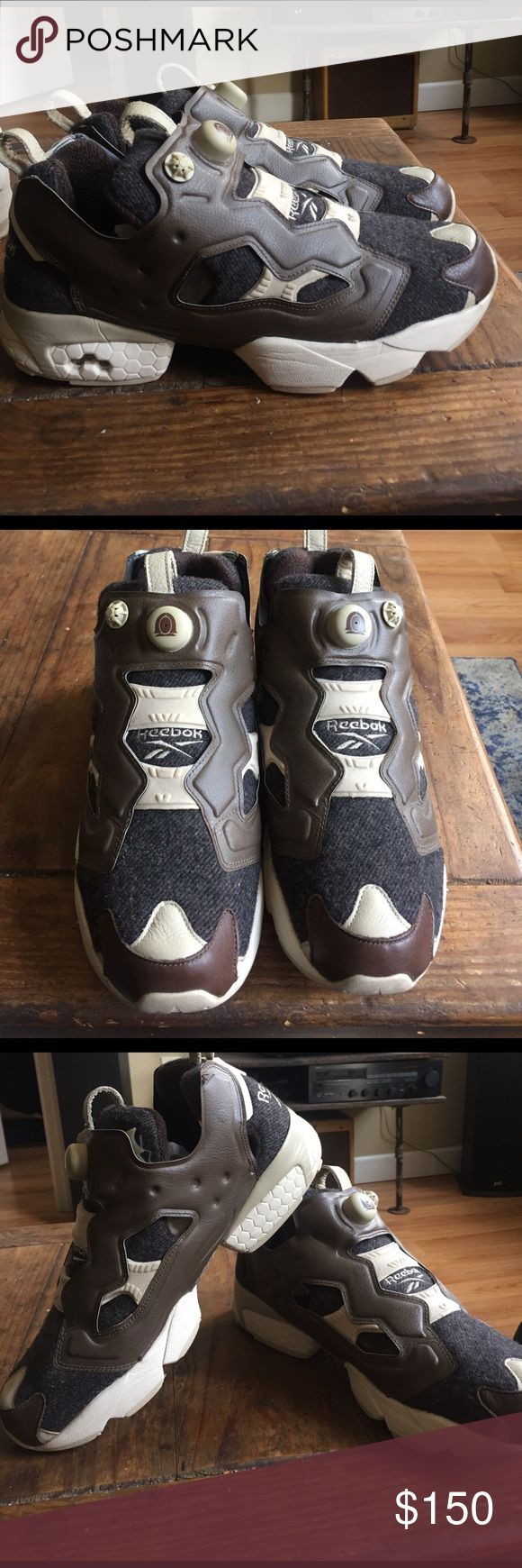 Reebok Insta Pump Fury Rare Reebok Insta Pump Fury SAMPLE shoes. These shoes were never produced. These were given to by a Reebok Employee. Realize the retail price isn't correct cause you couldn't buy these. These were worn a few times still in great condition. Reebok Shoes Sneakers