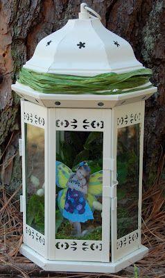 Forest Fairy House made by my friend Stephanie! :)