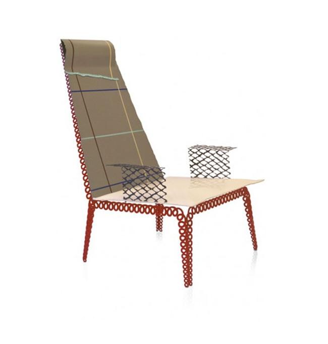 Textilesketch_chair by Kiki van Eijk