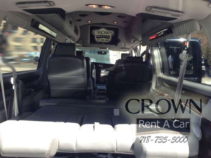 Conversion Van Rentals By Crown Rent A Car 718 735 5000 Touring Vans And