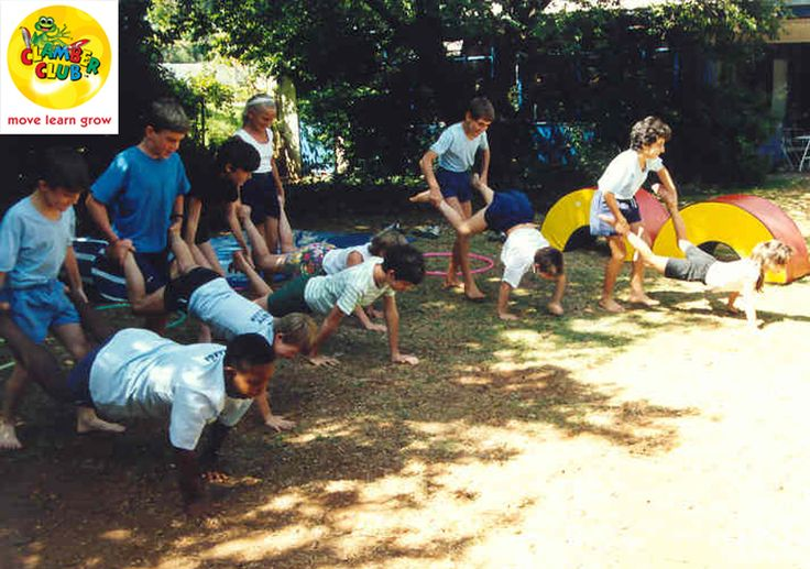 Instructions: 1) Make start and finish lines. 2) Tell players to choose a partner. 3) Line players up at the starting line. 4) Explain that one partner must face the finish line, bend over, and place his or her hands on the ground. 5) Tell the other player to stand behind his or her partner, reach down, and grab the partner's legs, placing the legs around his or her waist and holding on to them. the legs. 7)Have the players start at the same time. 8) The first team over the line is the…