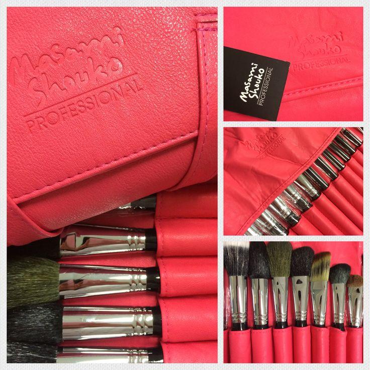 hot PINK makeup brush set
