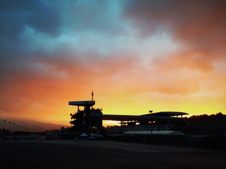 Sunset @ Mugello Circuit