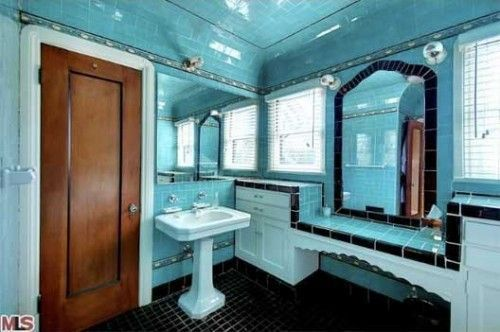 We are of the opinion that there's a special place in hell reserved for those who rip out a perfectly good vintage-tiled bathroom in an old LA house--especially if those tiles happen to be...
