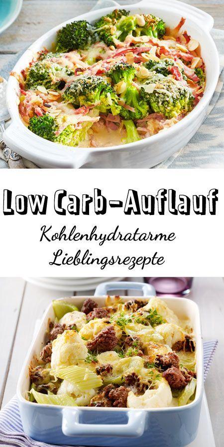 Rezepte für Low Carb-Auflauf, ganz ohne sättigende Beilagen wie Nudeln und Kartoffeln, die aus Kohlenhydraten bestehen. Mit viel Gemüse, Fleisch oder auch vegetarisch wird hier jeder satt, der auf seine Figur achtet und abnehmen möchte. #lowcarb # lowcarbauflauf #auflauf
