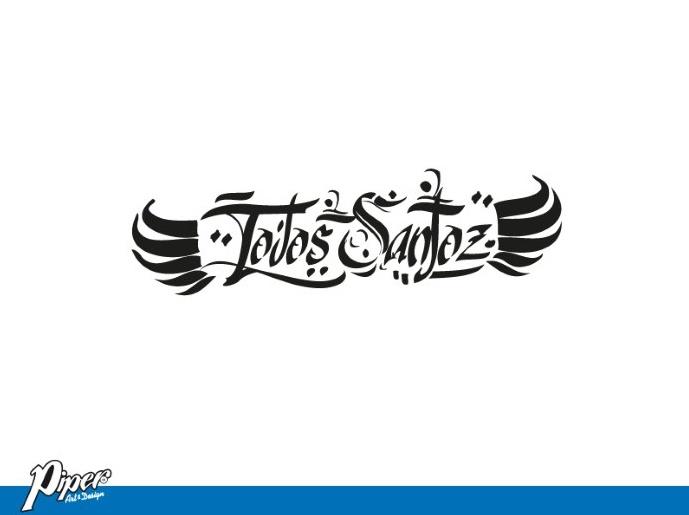 Logo Banda Todos Santoz