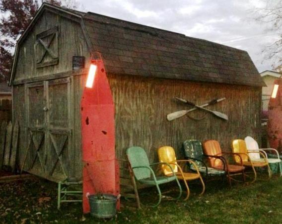antique motel chairs. antique metal \u0027motel chairs\u0027 in the garden   flea market gardening motel chairs n
