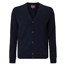 Buy John Lewis Made in Italy Merino Cardigan, Navy Online at johnlewis.com