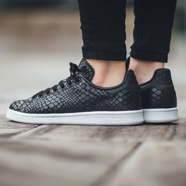 Adidas Stan Smith Black Snake
