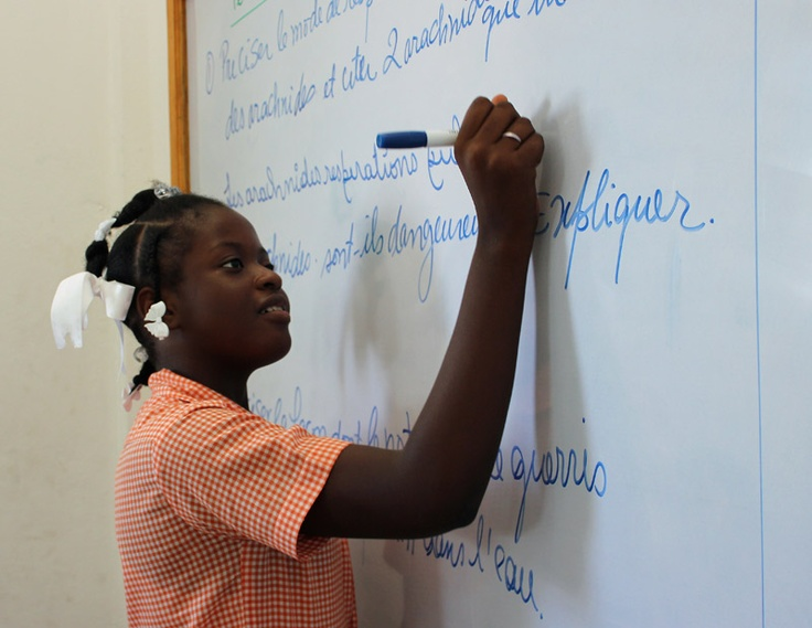 When girls have access to education they can change the WORLD