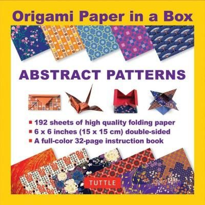 Origami Paper in a Box - Abstract Patterns: Abstract Patterns