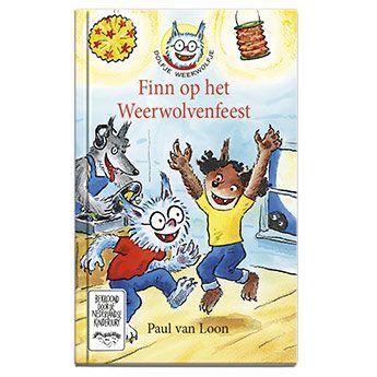 Dolfje Weerwolfje op het Weerwolvenfeest. Feest lekker mee zelf ook al een weerwolf! Degene met de beste kostuums krijgen een prijs en moeten ook hun masker afdoen. Echter, Dolfje en Noura hebben natuurlijk helemaal geen masker op. Wat nu....?  #DolfjeWeerwolfje #PaulvanLoon #lezen #boeken #Personalgifts