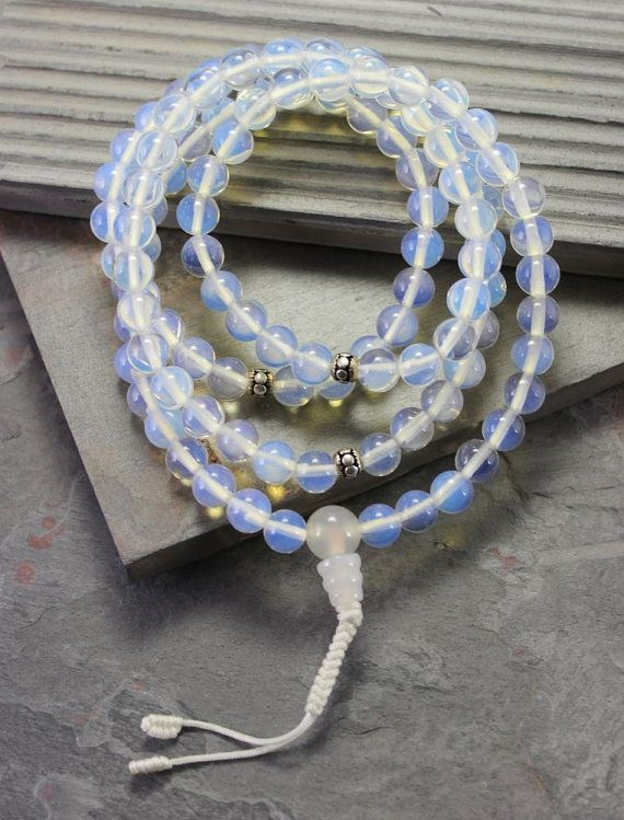 Hey, I found this really awesome Etsy listing at https://www.etsy.com/listing/239241196/opalite-and-moonstone-mala-beads
