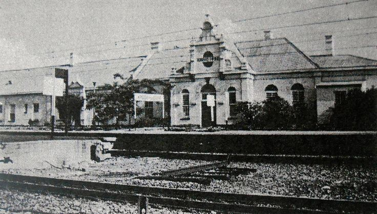 Krugersdorp Station Building - Former Street Facade with its striking gable - Robert De Jong