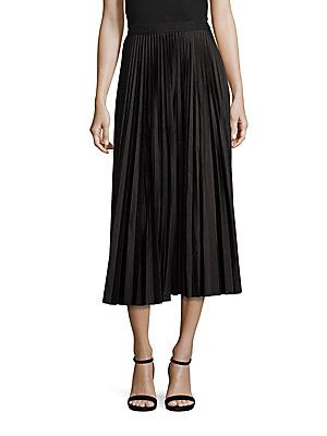Theory Dorothea Accordion Pleated Skirt
