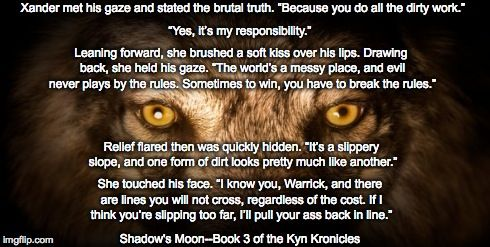 Shadow's Moon, Bk. 3 of the Kyn Kronicles by Jami Gray
