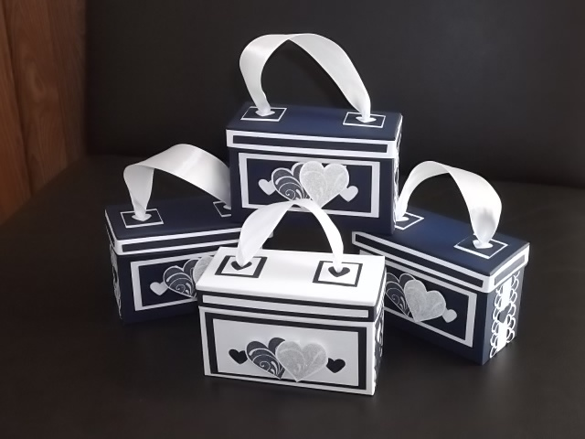 another view of Purse gift boxes