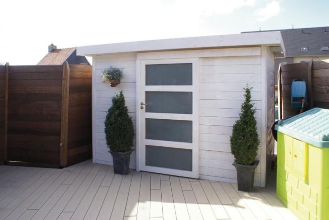 42 best Abris de jardin images on Pinterest Sheds, Decks and Log - abris de jardin adossable