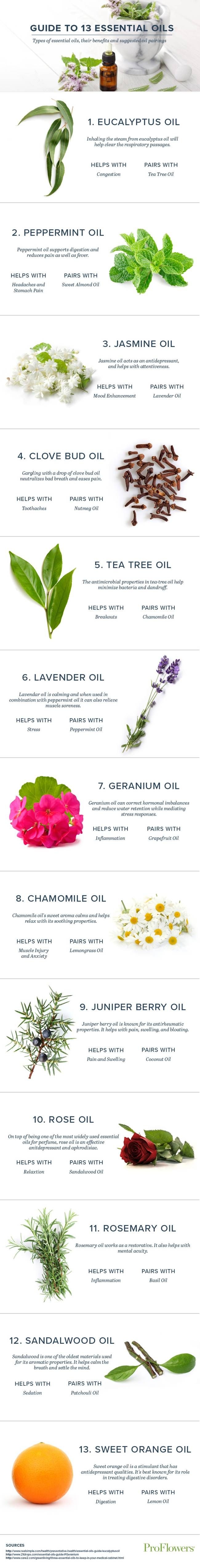 New to aromatheraphy? Check out @TreeHugger 's list of 13 essential oils, what they're good for & how to pair them.