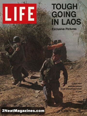 Life Magazine March 12, 1971 : Cover - War in Laos, photo ...
