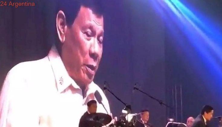 La noche que Rodrigo Duterte le cantó una serenta a Donald Trump
